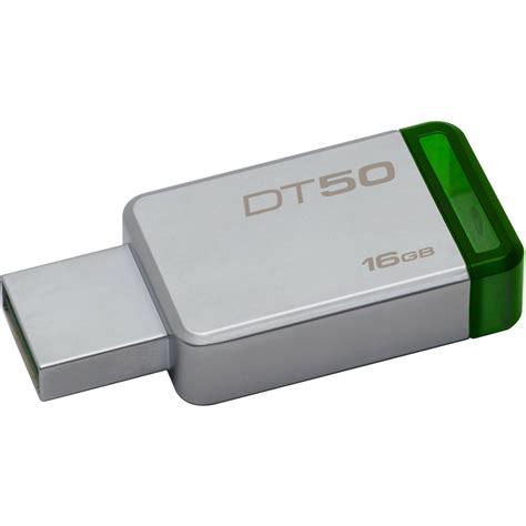 Usb Flashdisk 16gb Kingston Kingston 16gb Datatraveler Dt50 Usb 3 0 Flash Drive Dt50 16gb