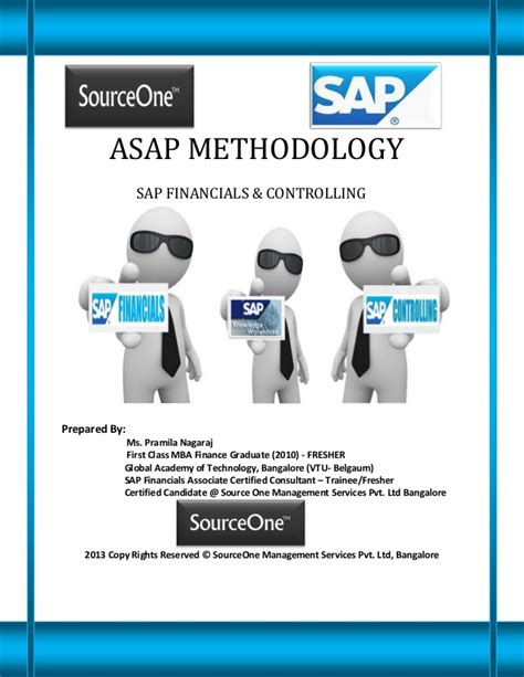 Start Mba Asap by Asap Methodology Sap Financials Controlling