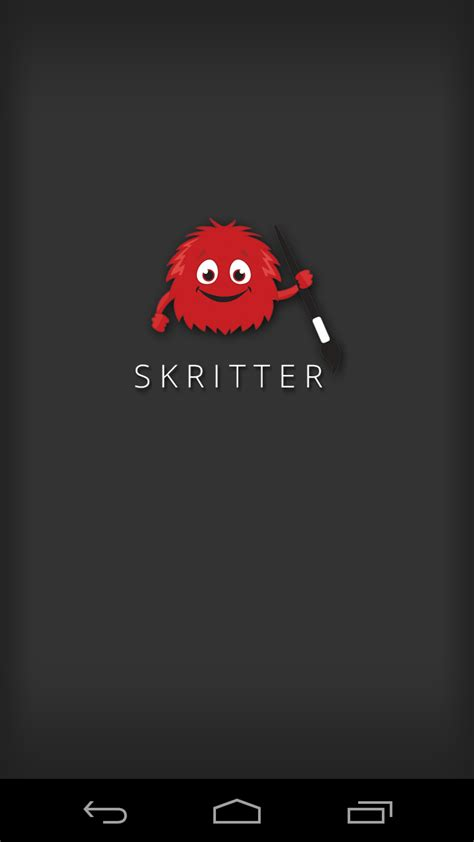 splash screen android the skritter android beta is out en route to fluency