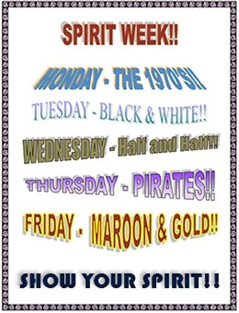 themes for college day spirit week quotes quotesgram