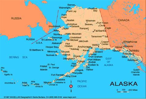 us map with canada and alaska alaska map russia