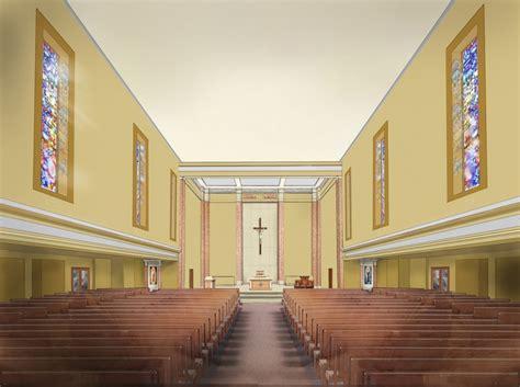Interior Design Plamen Petrov Catholic Church Interior Design