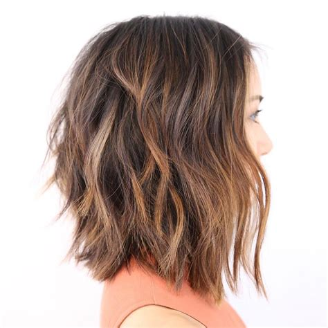 lob haircut for thick hair hair style fashion