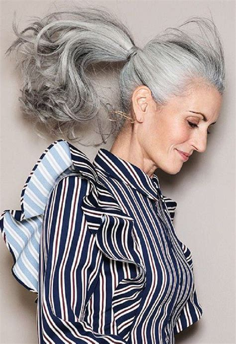 why is grey hair hard to manage 251 best grey hair women images on pinterest going