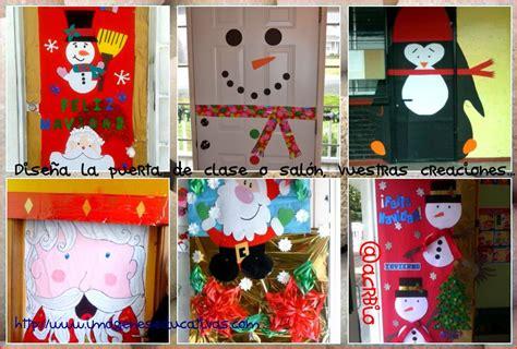 imagenes educativas puertas navidad dise 241 a la puerta de tu clase o sal 243 n vuestras creaciones