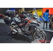 Honda CB500X CB500F H2C Concepts At 2016 Bangkok Motor Show
