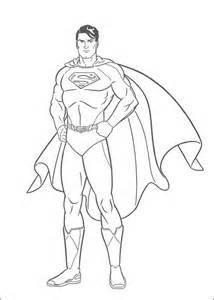 kleurplaten en zo 187 kleurplaten van superman