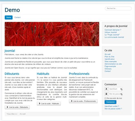 template joomla protostar download formation joomla param 233 trer son template