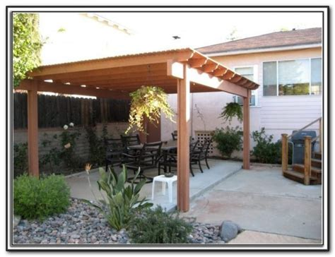 Diy Free Standing Patio Cover Plans   Patios : Home