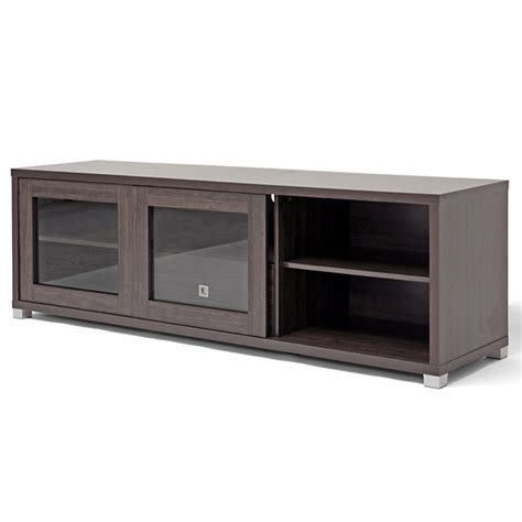Glass Tv Cabinets With Doors Modern Tv Stands With Storage