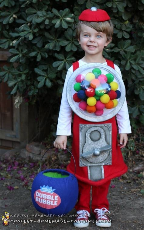 Coolest Handmade Costumes - cutest gumball machine