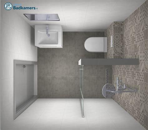 Badkamer Klein Voorbeelden by Kleine Badkamer Met Trendy Tegels Kleine Badkamers