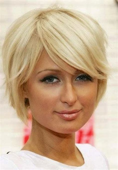 short blonde haircuts round face best short hairstyles for round face cinefog