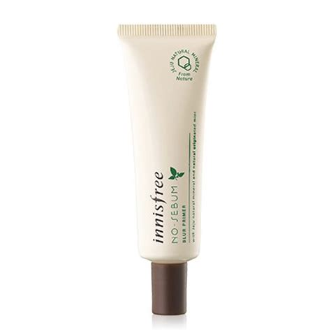 Harga Innisfree No Sebum Primer innisfree no sebum blur primer korean cosmetic