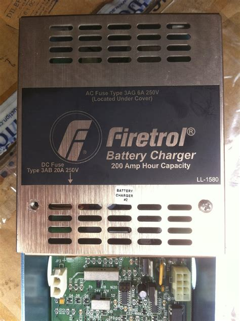 Electronics Repair Center: Firetrol Battery Charger
