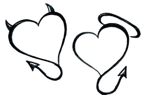 devil heart tattoo designs sles tattoos book 65 000