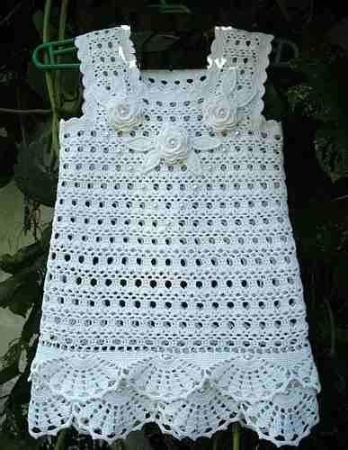 vestidos tejidos a crochet para bebes 1000 images about creaciones para beb 232 on pinterest