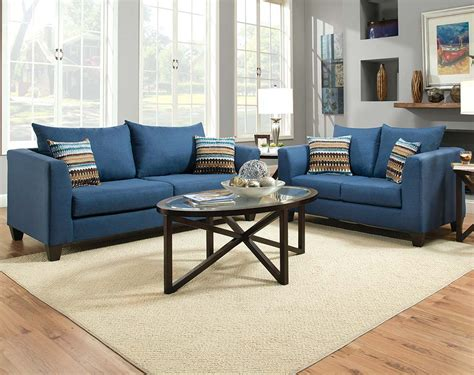 love blue n brown decora home stores in puerto rico blue streamlined couch set factory select sofa and