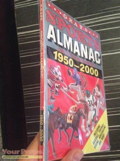 grays sports almanac back to the future 2 books back to the future 2 grays sports almanac 1950 2000
