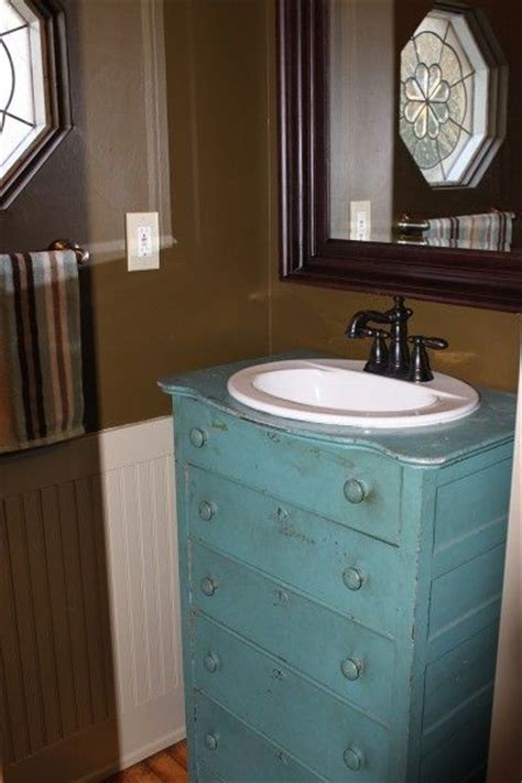 dresser repurposed as bathroom vanity mudroom renovation old dresser re purposed into a