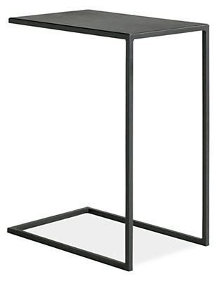 Room And Board Side Table by Slim C Table In Steel Modern End Tables Modern