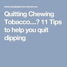 9 Tips To Help You Quit how to quit chewing tobacco infographic health
