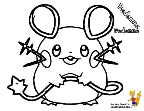 pokemon coloring page dedenne excellent pokemon x coloring slurpuff diancie free