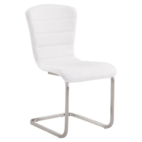 dazzling white kitchen cabinets for sale snazzy product cameo modern side chair white set of 2 dcg stores