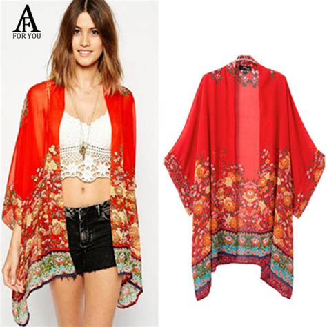 kimono jackets as a summer fashion trend for women over 60 summer style 2016 fashion women kimonos vintage flower
