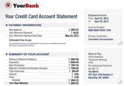 credit card billing statement template what is a credit card balance top 0 transfer offers
