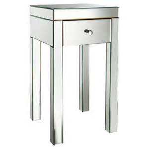 Mirrored Accent Table Target Expect More Pay Less