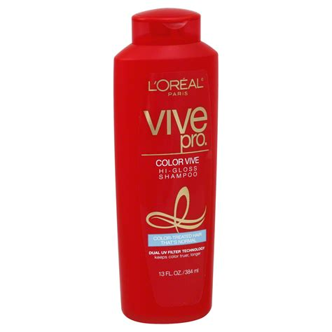 Sho L Oreal Color Vive l oreal vive pro color vive shoo hi gloss 13 fl oz 384 ml hair care shoos
