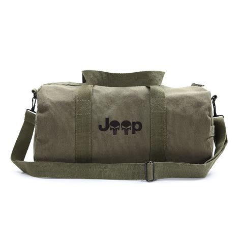 Jeep Bags Jeep Wrangler Renegade Punisher Skull