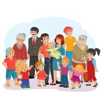 imagenes de la familia reunida dibujos animados de familias fotos y vectores gratis