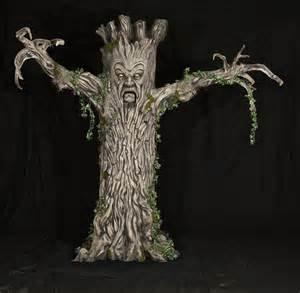 Halloween Animated Props Evil Tree Halloween Prop