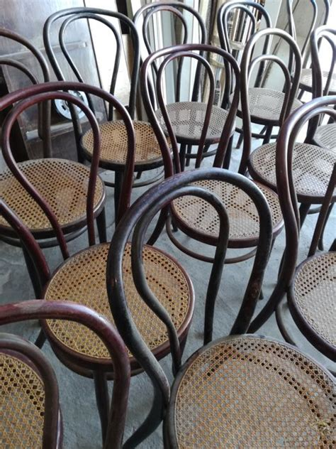 sedie thonet originali thonet 16 sedie mod mundus originali vienna catawiki