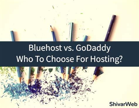 bluehost  godaddy  review  godaddy bluehost hosting
