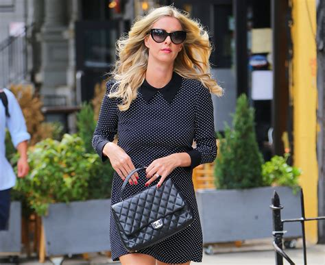 Hiltons Chanel Clutch Purses Designer Handbags And Reviews by Nicky Carries A Classic Chanel In Nyc Designer