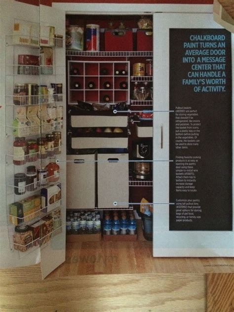 Unique Pantry Ideas by Lowe S Creative Ideas Pantry Living Room Kitchen