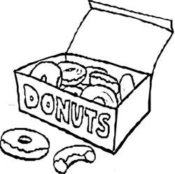 donut coloring page donuts colouring pages cliparts co