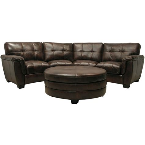 leather curved sectional sofa shape