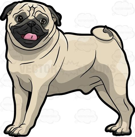 pug clipart pug clip pictures to pin on pinsdaddy