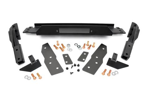 Jeep Yj Winch Plate Winch Mounting Plate For 99 04 Jeep Wj Grand