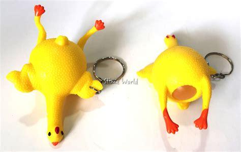 Slime Telor Warna Warni jual squishy ayam pencet squeezee skuisi chicken squisi slime world