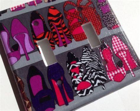 bedroom high heels high heel double light switch cover zebra room decor