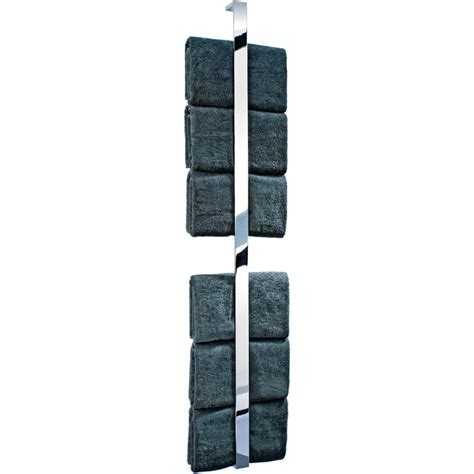 vertical towel rack bathroom dwba chrome guest towel holder vertical towel rack 62 2