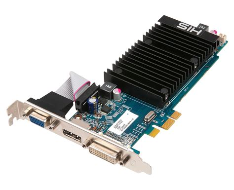 Vga Express His 5450 Silence 1gb Ddr3 Pcie 1x Dp Dvi Vga
