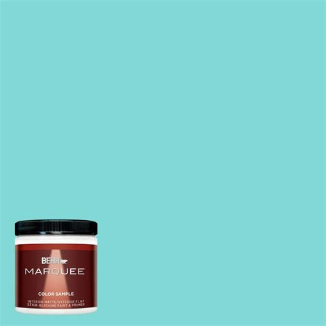 behr marquee 8 oz mq4 22 key largo interior exterior paint sle mq30016 the home depot