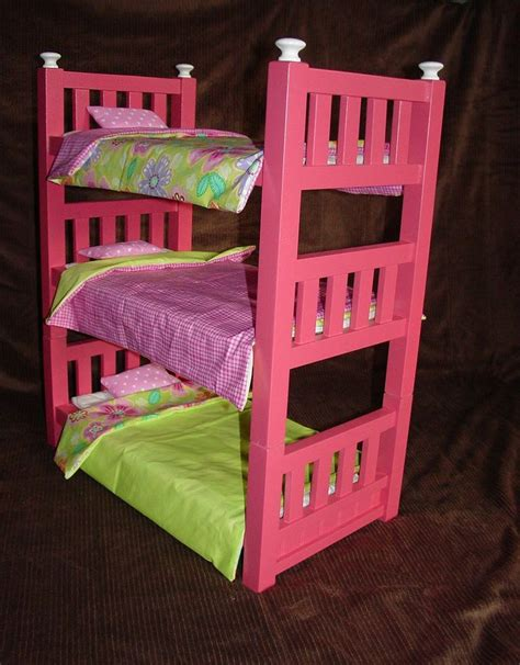 Dolls Bunk Bed Best 25 Doll Bunk Beds Ideas On Diy Doll Bed American Diy Doll Furniture
