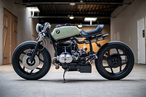 bmw motorcycle cafe racer the mutant an angry bmw r80 by ironwood motorcycles